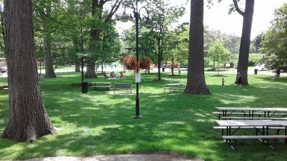 Le parc Gage est l'un des lieux les plus anciens et des plus populaires de la municipalité de Brampton. (Photos: Sandra Dorélas)