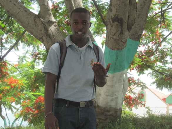 Evens Égalité, guide-accompagnateur d'Expérience à Jacmel.