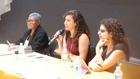 Marlène Thélusma-Rémy, Nathalie Codsi, Alexandra Harfouche.
