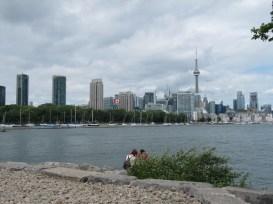 Vue sur Harbourfront et le centre-ville.
