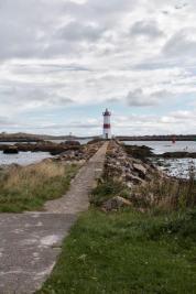 La jetée du phare. (Photo: Odile Collet)