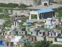 Le cimetière de Marchand Dessalines.