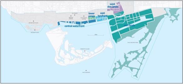 Le secteur riverain de l'Est du centre-ville de Toronto est privilégié par le comité de planification de l'université franco-ontarienne.