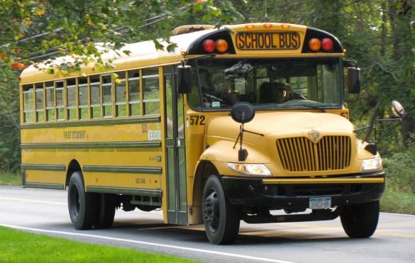 Environ 100 autobus scolaires sont actuellement en service dans toute l'Amérique du Nord.
