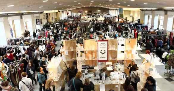 Un des événements de la Braderie de mode québécoise.
