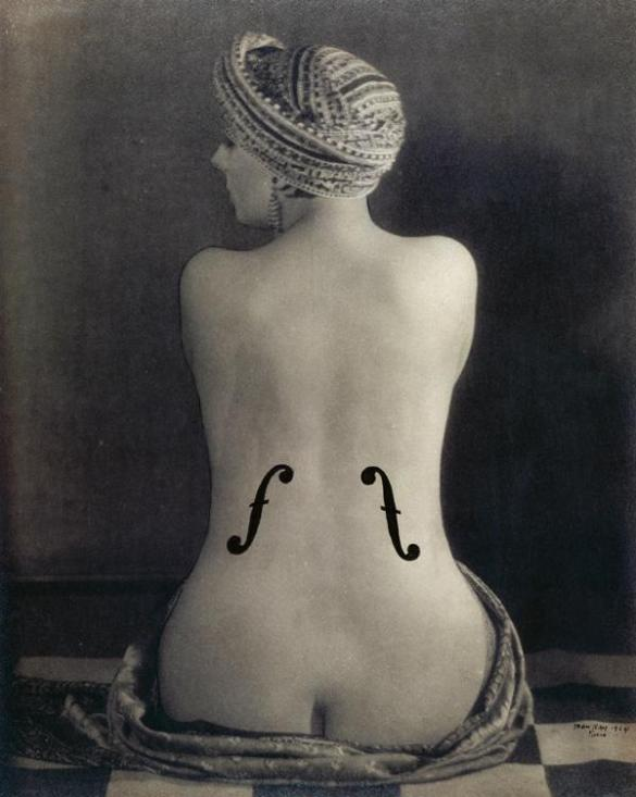 Le Violon d'Ingres de Man Ray, 1924.