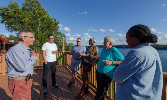 Six Franco-Ontariens invités à rencontrer les Wahgoshigs.