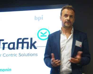 Laurent Simonin, de Smart Traffik.