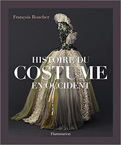 Boucher François. Histoire du costume en Occident. broché, couverture souple,23,5x22x5 cm, 1 300 illustrations, 478 p.