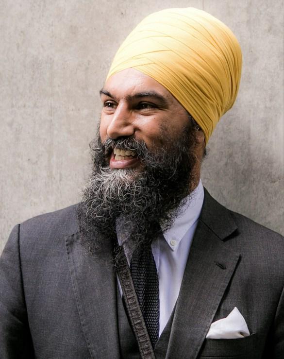 Le nouveau chef du NPD canadien, Jagmeet Singh.