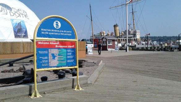 Le Musée maritime de l'Atlantique (Photo : Sandra Dorelas)