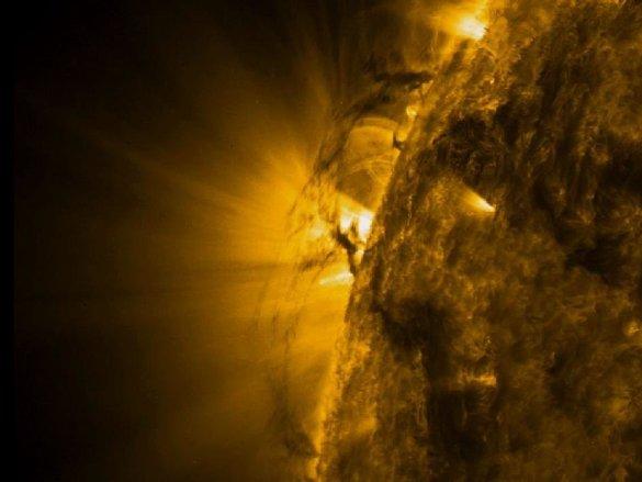 Notre Soleil est toujours très actif. (Photo: NASA)