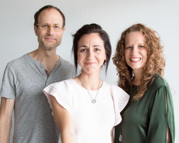 Stephen Redlich, Martine Côté, Josée Duranleau (Photo: Martine Côté)