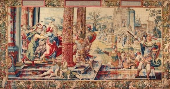 Tenture, L'arrestation de Saint-Paul à Jérusalem d'après Pieter Coecke van Aelst, 1502-1550 (p. 322)