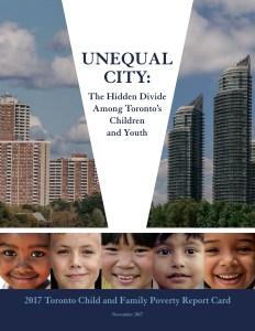 Le rapport Unequal City 2017.