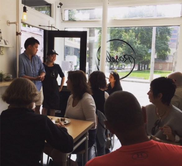 Un atelier Tour de Café au café Roselle