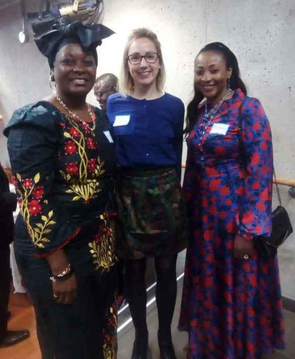 Trois participantes au programme Gouvernance inclusive: Éléonore, Marine et Winnie.