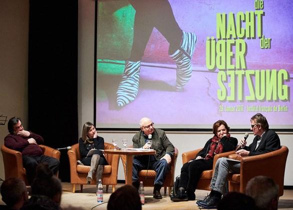 Un débat dans le cadre de la Nuit des idées à Berlin l'an dernier.
