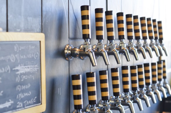 Bandit possède son lot de bières artisanales.