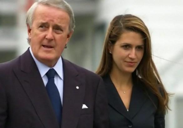 Brian et Caroline Mulroney