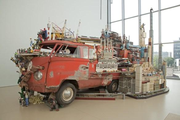 Bruegel-Bosch Bus at Art Gallery of Hamilton