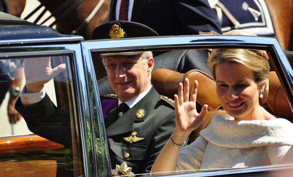 Couple royal Belge