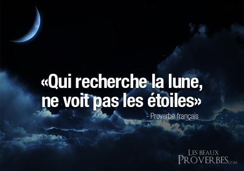 Proverbes lune étoiles