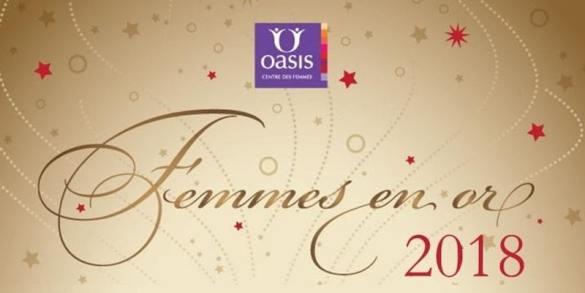 oasis femmes en or 2018