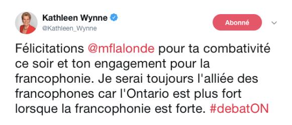 débat en français