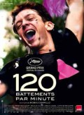 20 juin 2019: le grand film français 120 battements par minute, de Robin Campillo, sur la lutte d'Act Up Paris pour sensibiliser la population au sida.