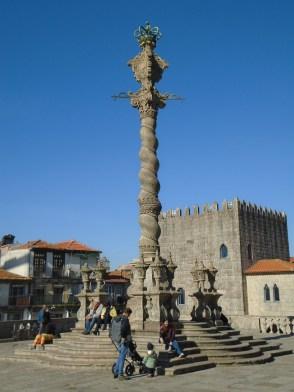 Colonne de Porto, Portugal.