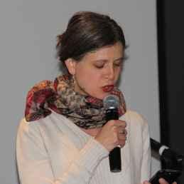 Stéphanie Corriveau, poète.