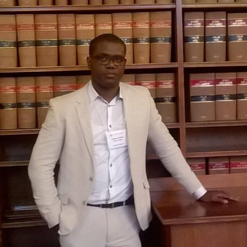 Cédric Engone Biyogo, parajuriste
