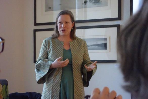Conférence à l'AFT animée par la Professeure Alison Matthews David