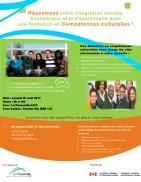 L'un des principaux programmes de La Passerelle: la formation en «compétence sculturelles».