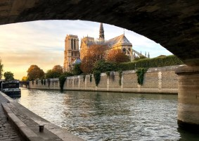 Notre-Dame de Paris (Photo: Nathalie Prézeau, octobre 2018)