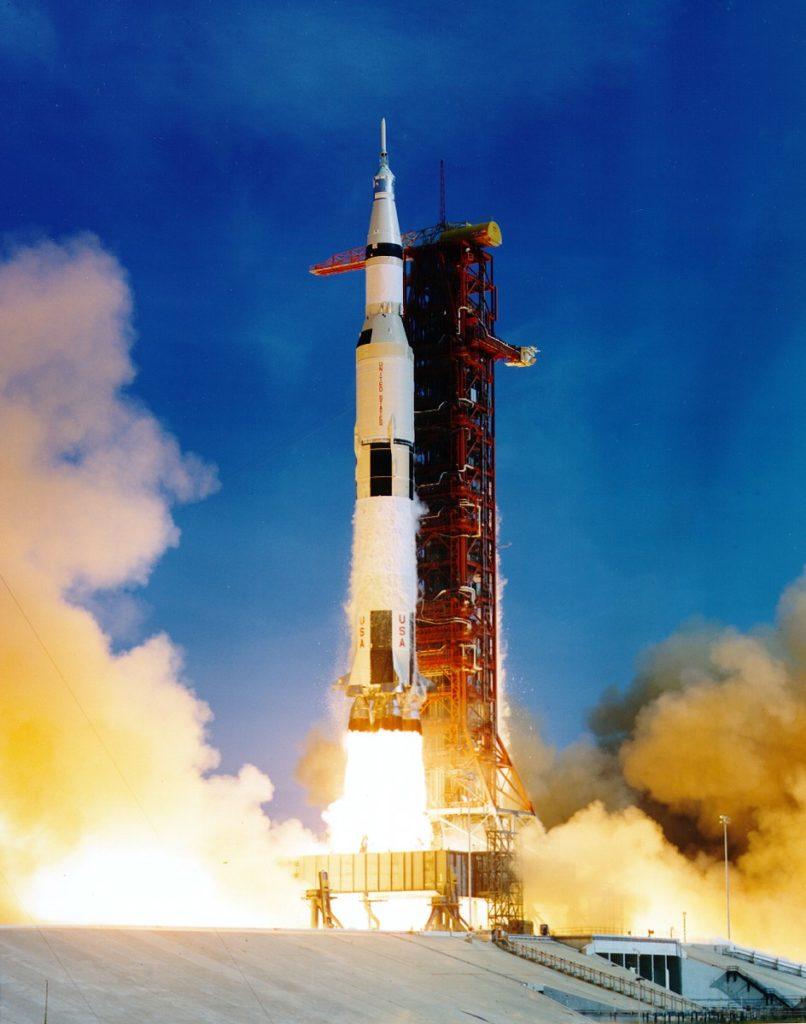 Premier Homme Sur La Lune 1961 : premier, homme, Anniversaire, D'Apollo, Quand, L'homme, Décrocha