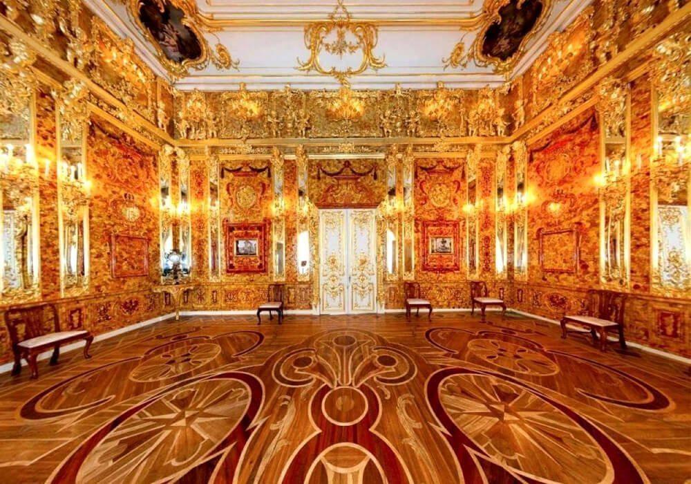 La Chambre d'ambre, une pièce d'art bien étrange - l-express.ca