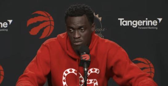 Pascal Siakam (Toronto Raptors) media day