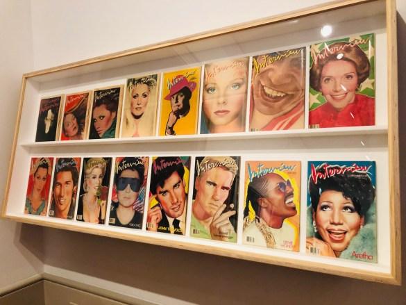 Série de magazines alternatifs Andy Warhol