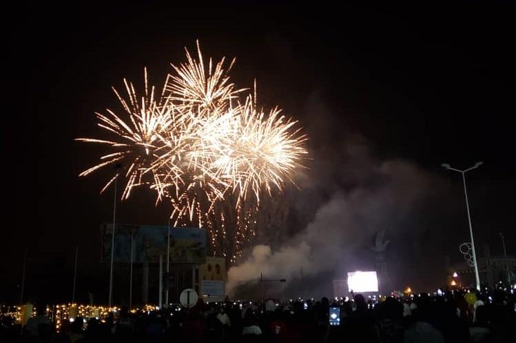 [Photos] Le Togo célèbre l'entrée en l'an 2020