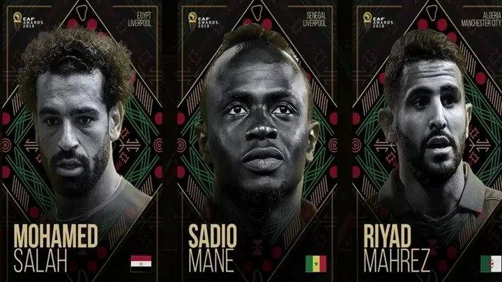 in-Ballon d'Or Africain 2019 les 3 finalistes sont connus