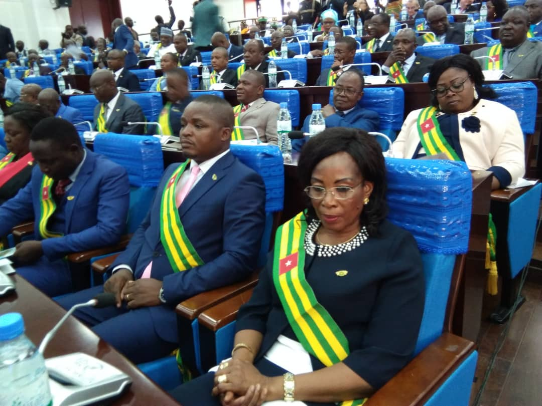 Tsegan, Session parlementaire, Togo, mardi 2 avril, député, réformes,