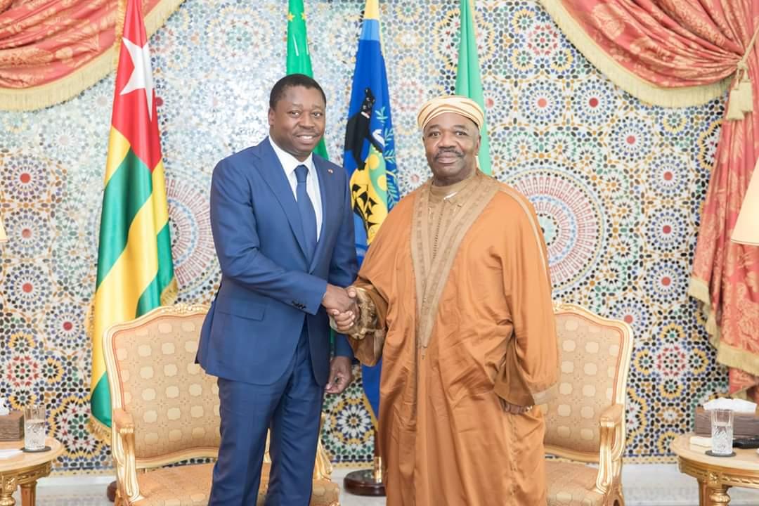 Gabon, Togo, Bongo, Gnassingbé, mardi 7 mai