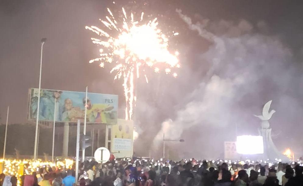 *[Photos] Le Togo célèbre l'entrée en l'an 2020