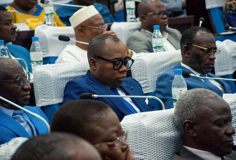 TogoAssemblée nationale-la déclaration de politique générale de Dr Selom K. Klassou (en cours)