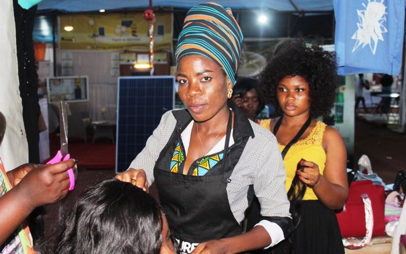 Afiwa Aziadjipe, concours, Koiffure Kitoko, 2018
