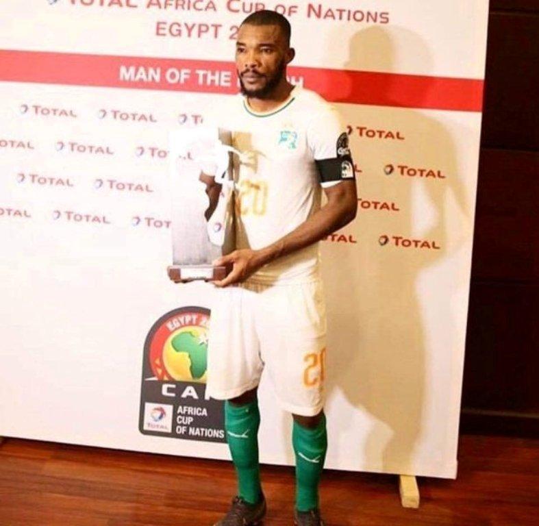 CAN 2019 l'ex de Josey récompensé en Egypte ce lundi (photo)