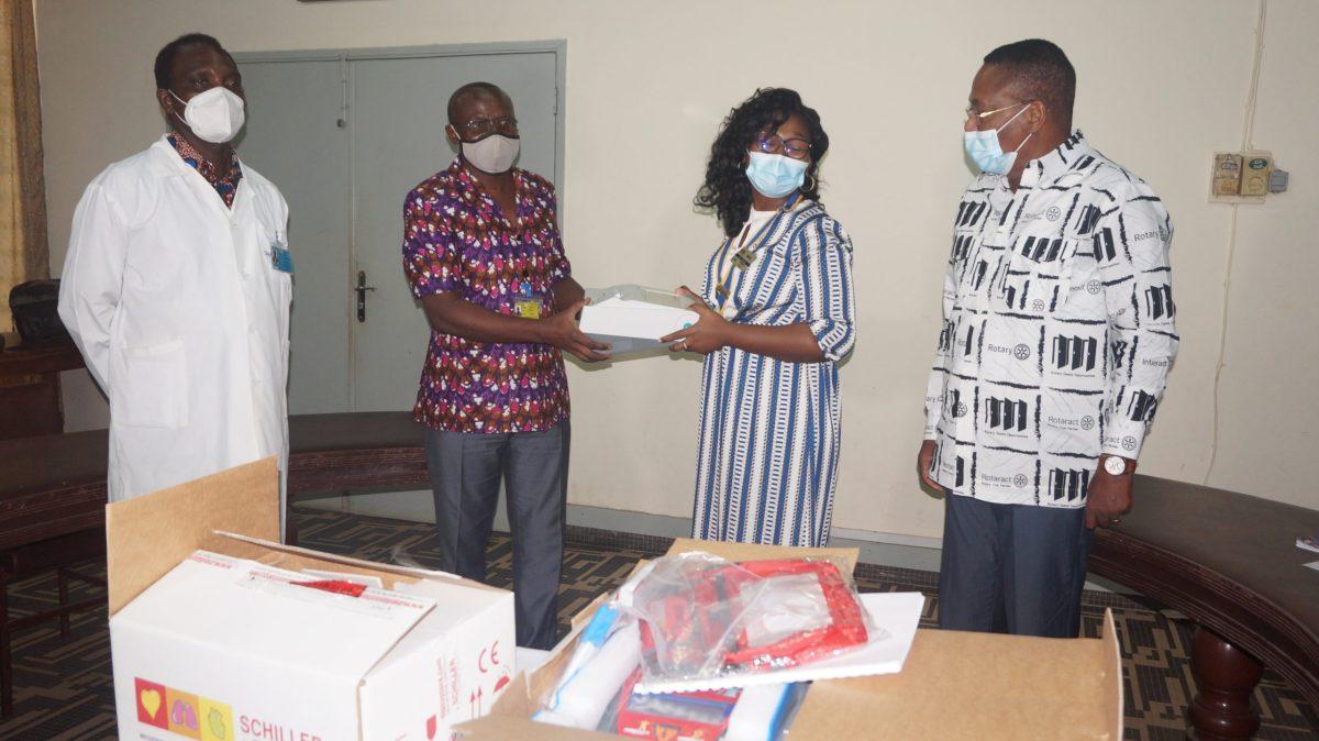 Togo : formation et don de matériels médical du Rotary Club au profit du CHU Sylvanus Olympio