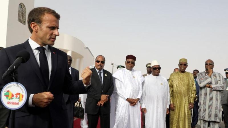 Emmanuel Macron, Tchad, Afrique, Idriss Déby